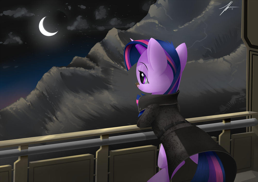 Cyberpunk esque Twilight for Kallisti II! by Wreky