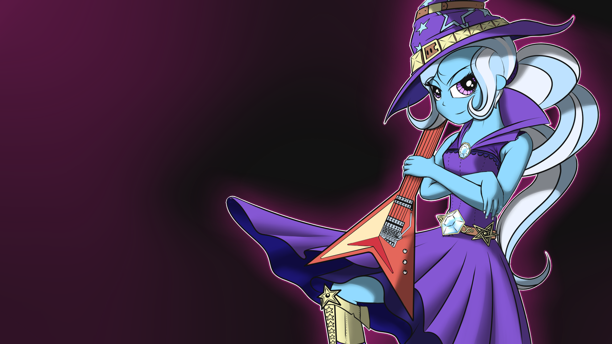 Guitaring Trixie by Wreky