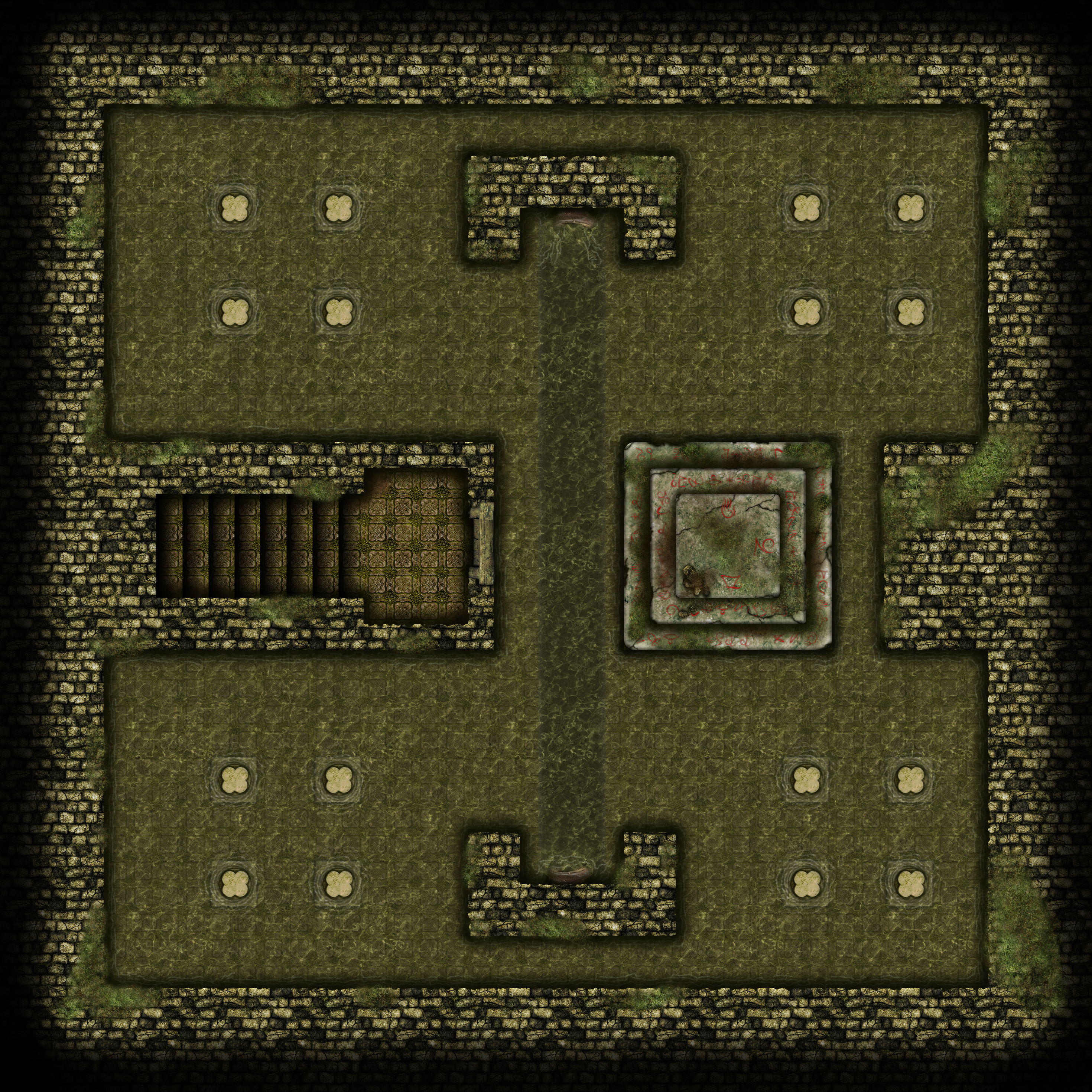 Xen'Drik Temple of the Giants Eberron Dark