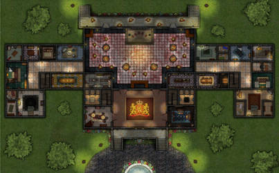 Palace Map - Ground Floor