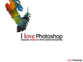 I Love Photosop by lumansupra