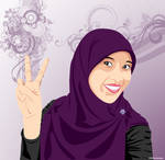 Another Hijab Girl by lumansupra
