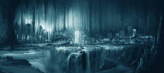 Underground City by ponponxu