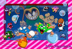 Bubble Bobble redraw by NamcoPlayer