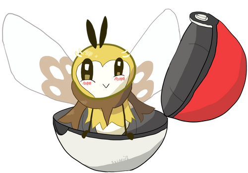 Ribombee Being Cute