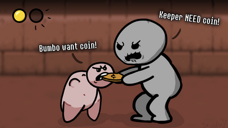 Bumbo want coin!