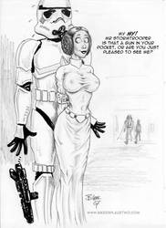 Leia - The Femme Fatale by Bikerbloke