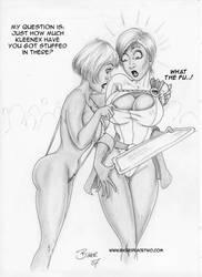 Powergirl 03 by Bikerbloke