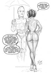 Leia-The-Courier57 by Bikerbloke