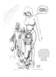 Leia-Help me Obi-wan2 by Bikerbloke