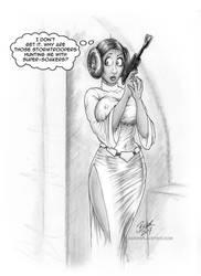 Leia-Supersoaker by Bikerbloke