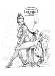 Leia-CleverDroid by Bikerbloke