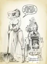 Leia+R2-Steampunked