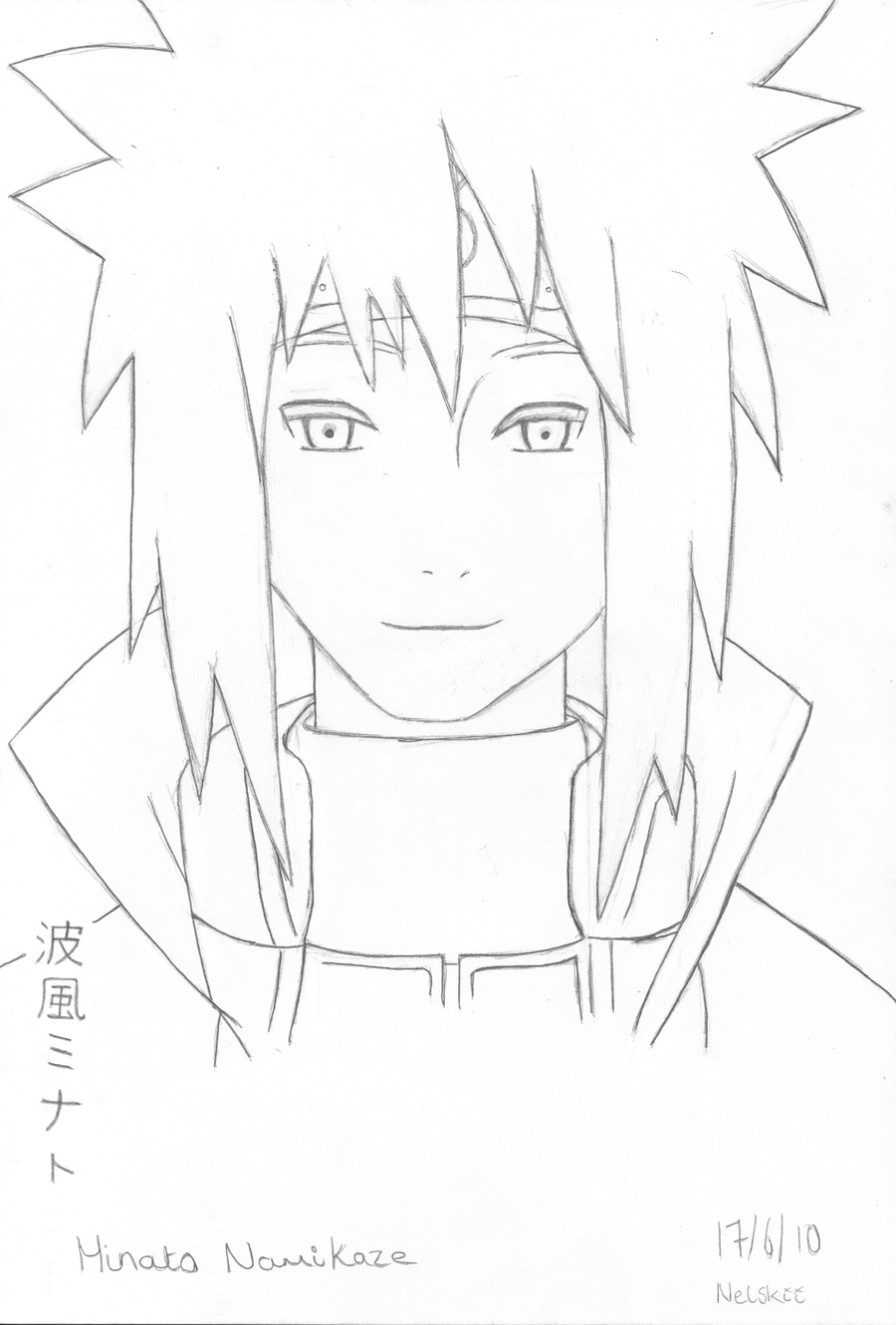Hokage Coloring Pages Coloring Pages