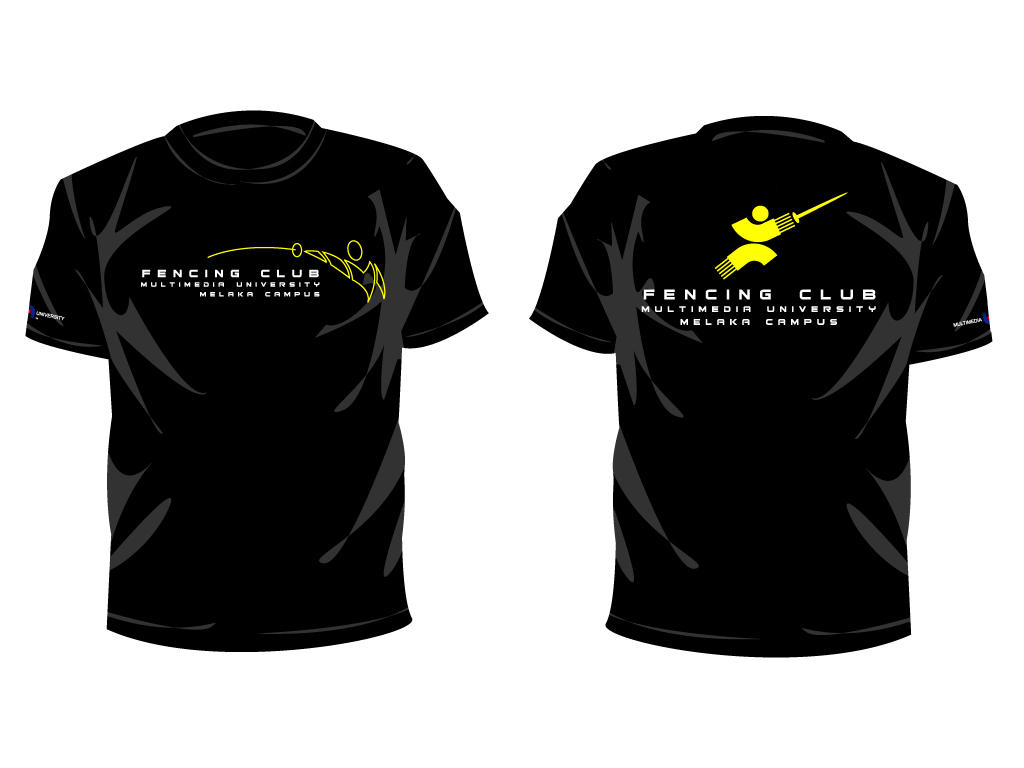 Fencing club t shirt by thr33 on deviantart for T shirts for clubs