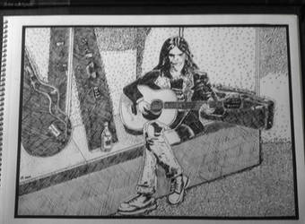 Neil Young by Sketch-the-Ancient