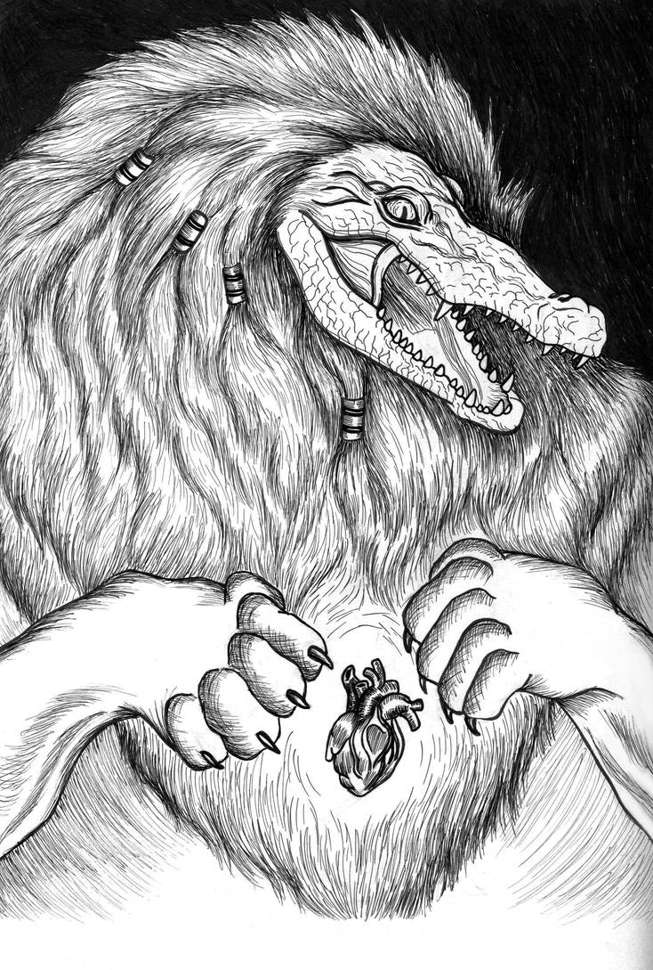 A Is For Ammit by TheGraphicAcademic