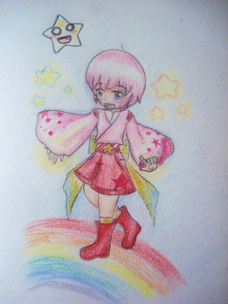 Human Kirby by sashimi-rice04 on DeviantArt