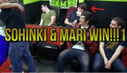 Matt Sohinki Ian is angry  by jinxmoustache    Mari And Sohinki Kiss