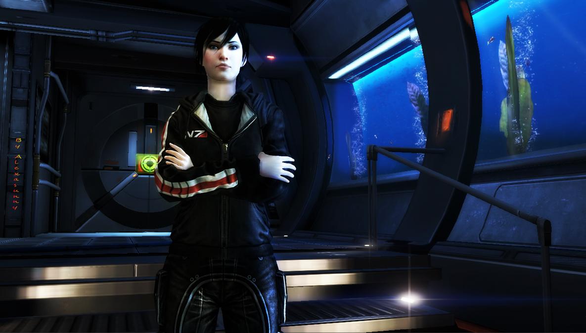 Commander Hawke by Alexasunny