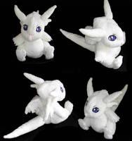 dragon drive - chibisuke plush by ichigo-pan43