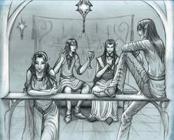 Evening Tales by nolwen