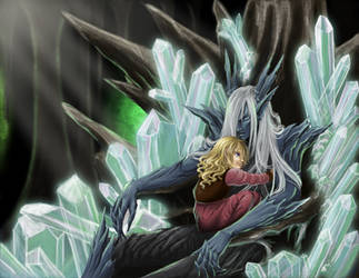 Crystal Throne by nolwen