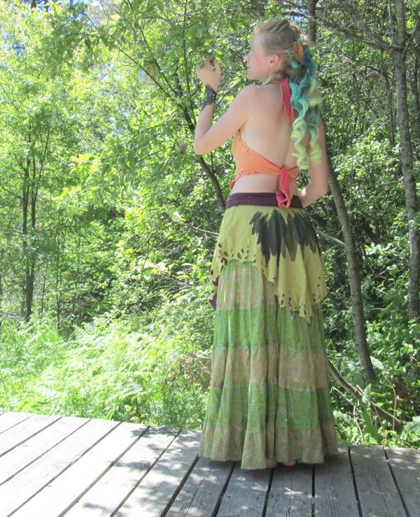 Hummingbird Skirt by nolwen