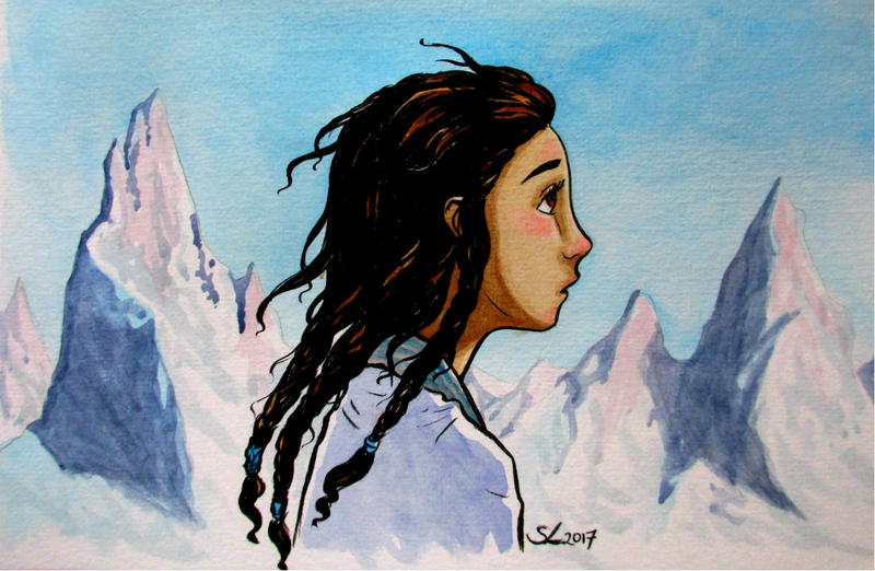 Mountain Girl by nolwen