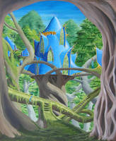 Forest Palace by nolwen