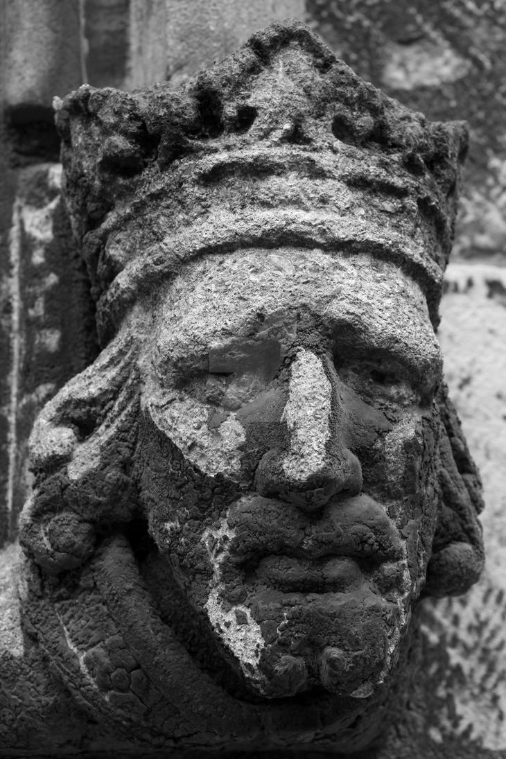 Saddened King by SimonHS