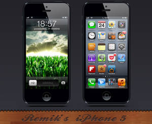 My first iPhone5 Screenshot