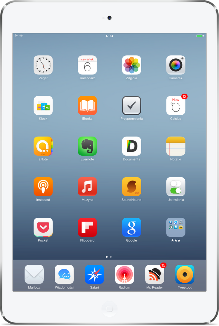 My iPad Mini Retina by iRemik