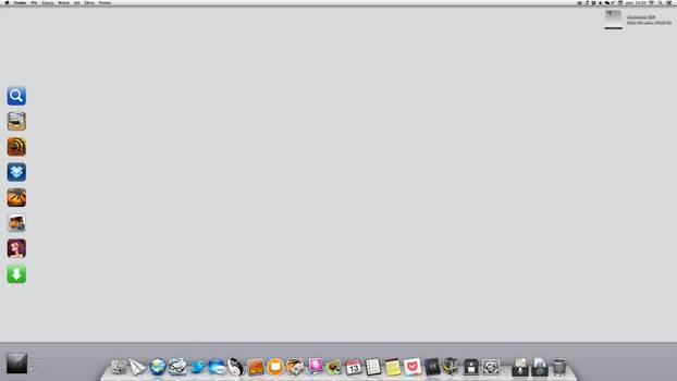 iMac Desktop Januar 2014
