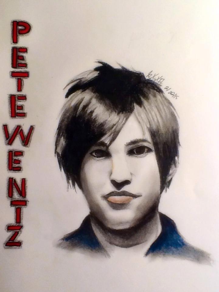 Pete Wentz portriat by pandorasxink