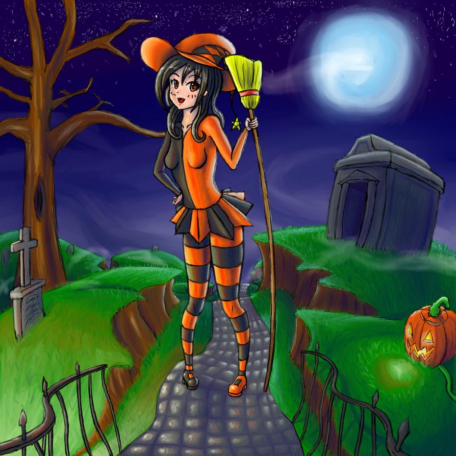 Happy Halloween 2015 by GenericAnime