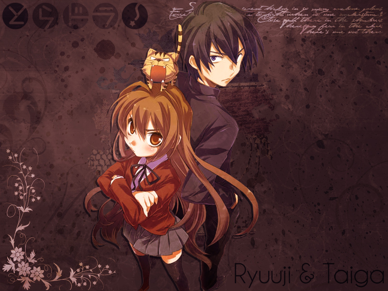 Toradora___Wallpaper_by_Chiibi_Neko - Un género, un anime - Hablemos de Anime y Manga
