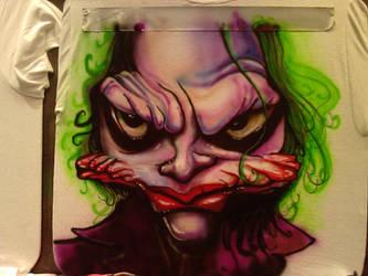 Joker Airbrush by Zitman
