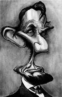 Abe Lincoln Caricature by Zitman