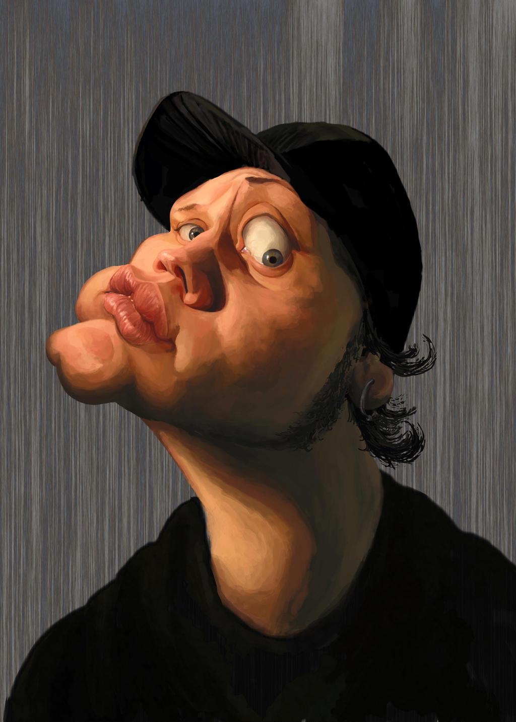 Self Caricature by Zitman
