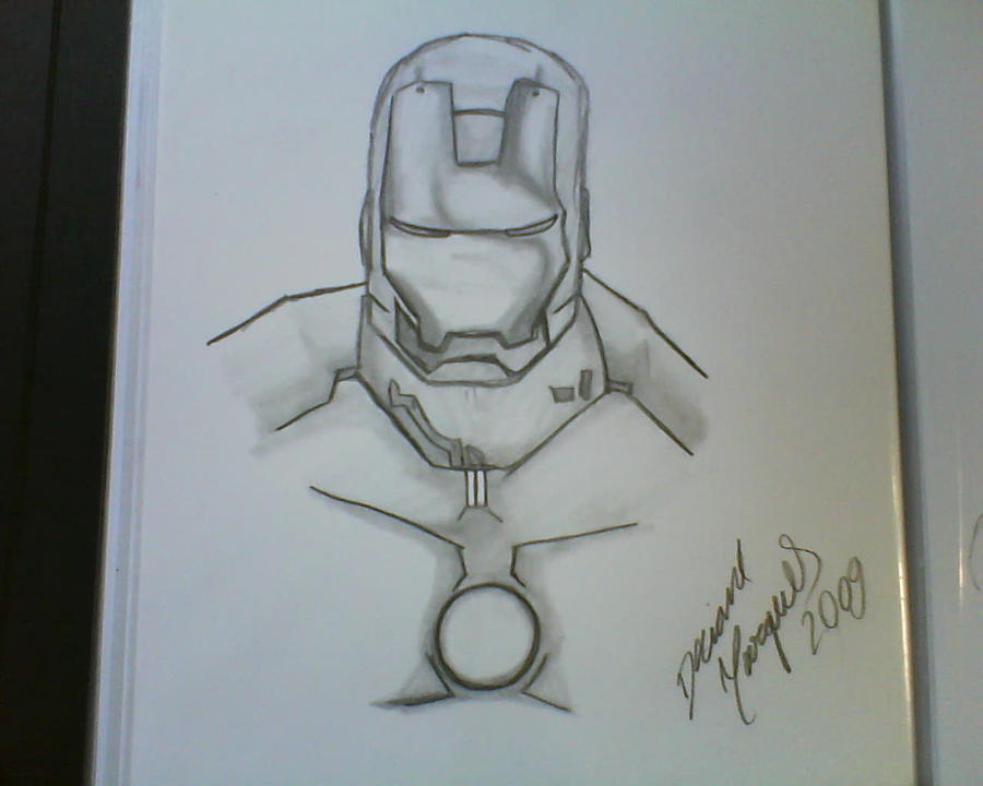 Black Man Ironing Iron Man Black And White by