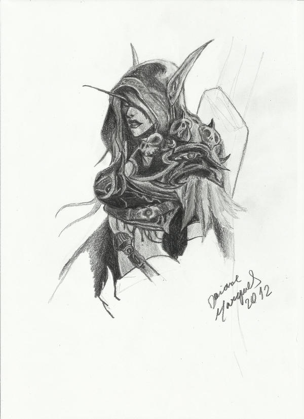 Lady Sylvanas by Destincor
