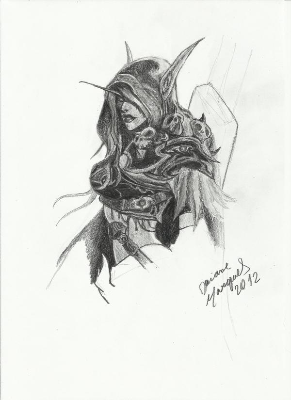 Lady Sylvanas by Destincor