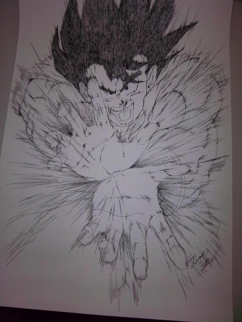 Goku by Destincor