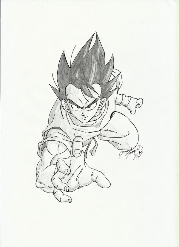 Son Goku by Destincor