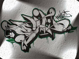 Graffiti skie by Gravemind3