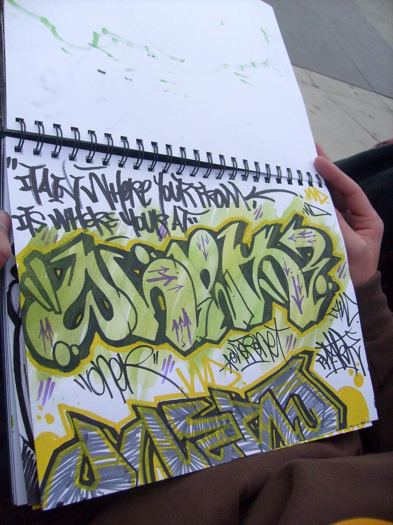 Black Book Graffiti 82