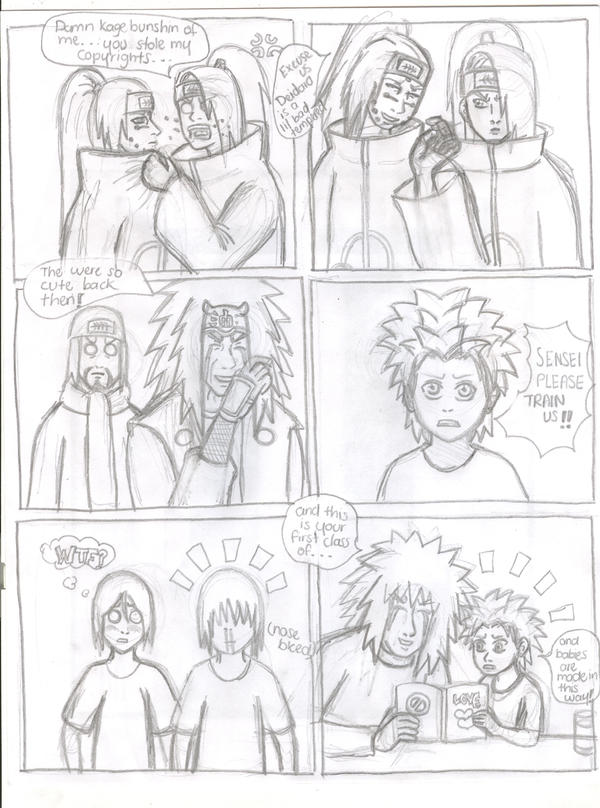 Naruto parody chapter 372 by comet21