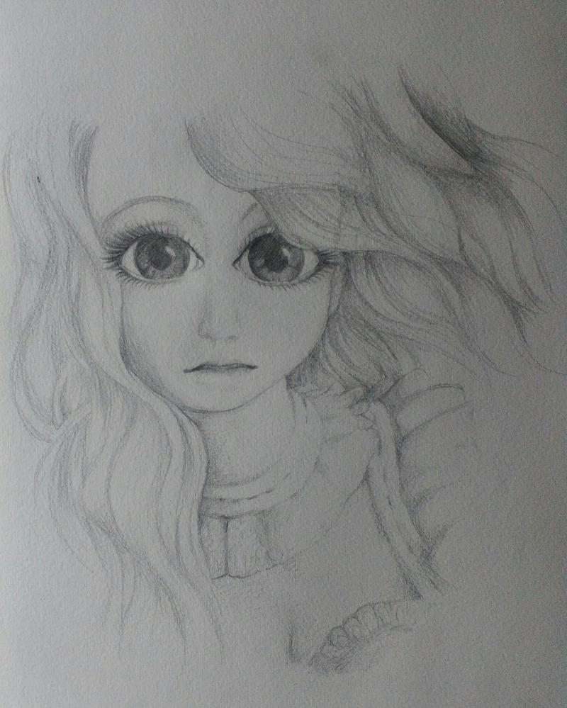 Girl Drawing by Eternal-Claritas