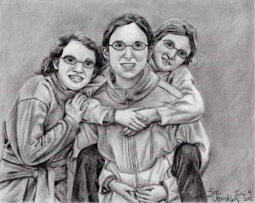 Commission: Three Sisters